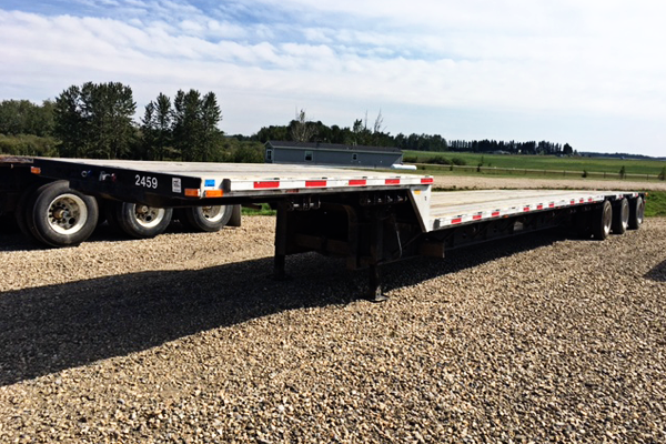Drop Deck Trailer Rental