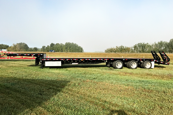 Drop Deck Spring Ramp Trailer Rental
